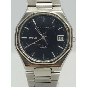 Rare Vintage Men's Certina Iveco Watch
